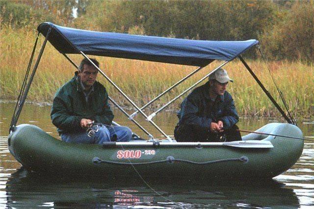 Ходовой тент на лодку пвх своими руками