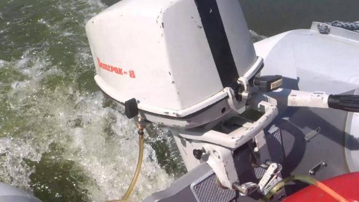 Лодочный мотор ветерок 8 м