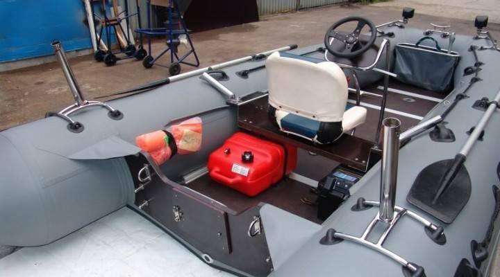 Модернизация лодки пвх своими руками