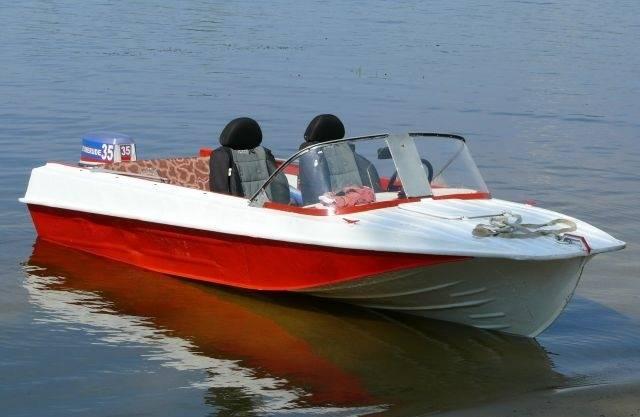 Вес лодки казанка