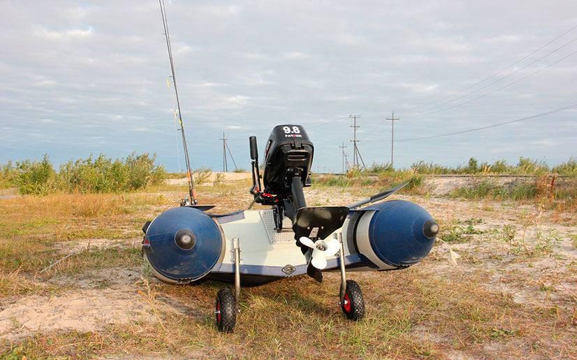 Транцевые колеса для лодки пвх своими руками