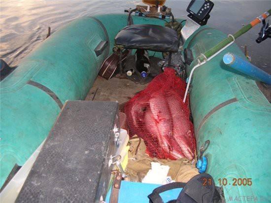 Крепление для мотора на резиновую лодку