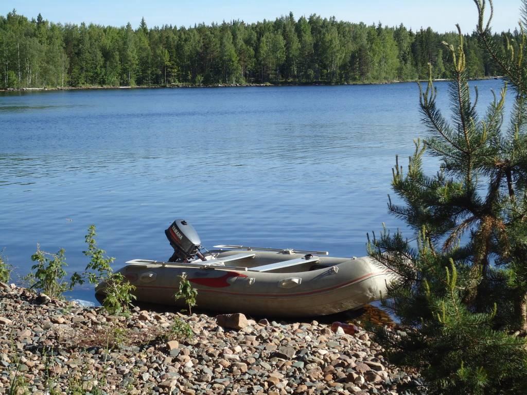 Как заклеить лодку пвх по шву