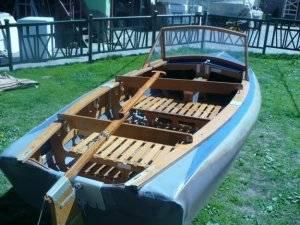 Лодка каркасная