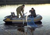 Мини лодка для рыбалки