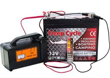 Гелевый аккумулятор для лодочного электромотора