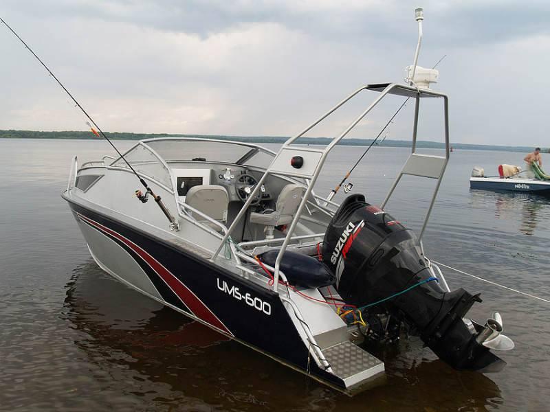 Алюминиевые катера для рыбалки
