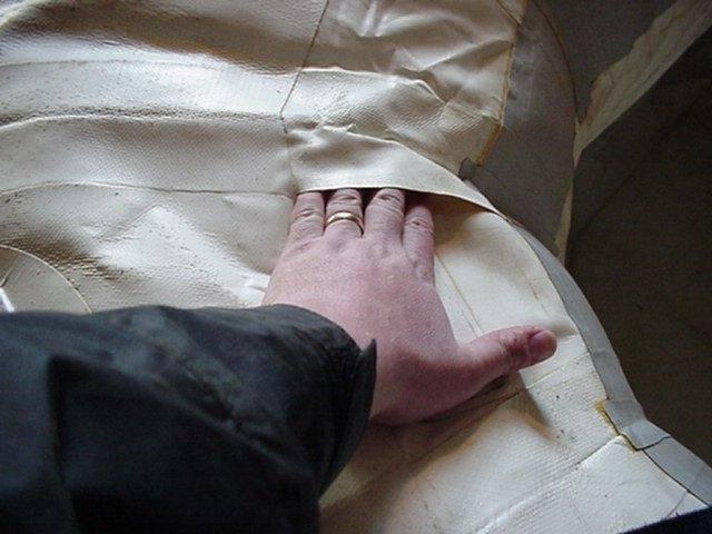 Как заклеить надувную лодку из пвх