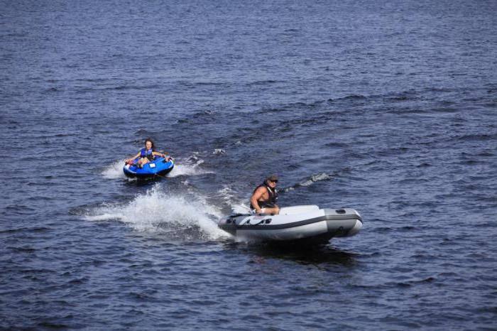 Надувная лодка касатка