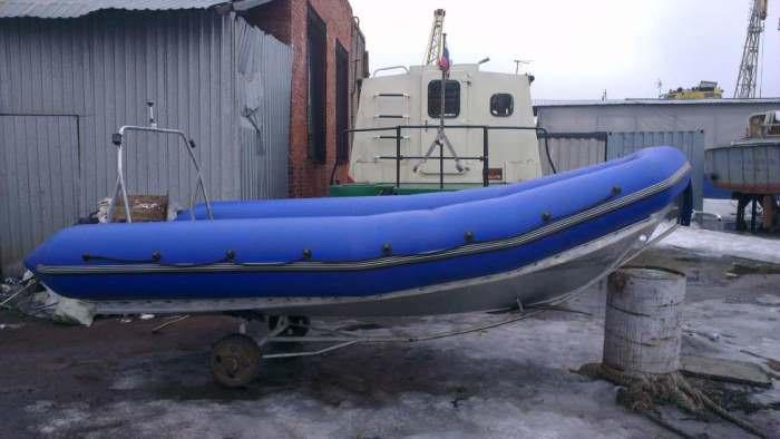 Надувная лодка с алюминиевым дном