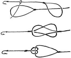 Завязывание узла {amp}quot;петля в петлю{amp}quot;