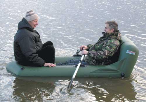 Кресло для надувной лодки