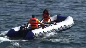 Лодки с надувным дном под мотор