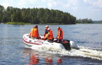 Надувная лодка с мотором без регистрации