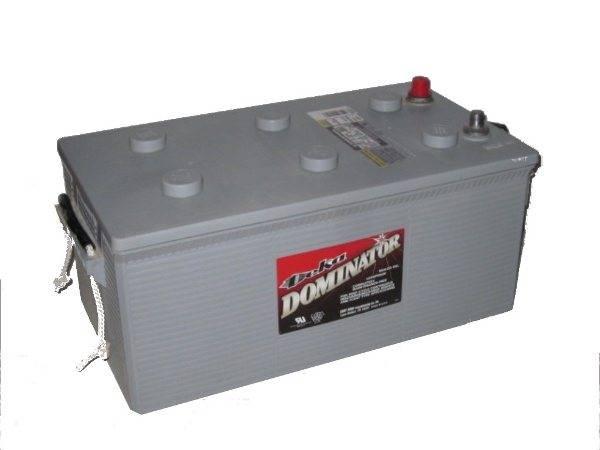 Тяговый аккумулятор 12в для лодочного мотора