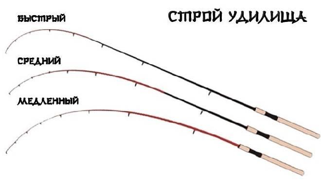 Типы спиннингов по строю