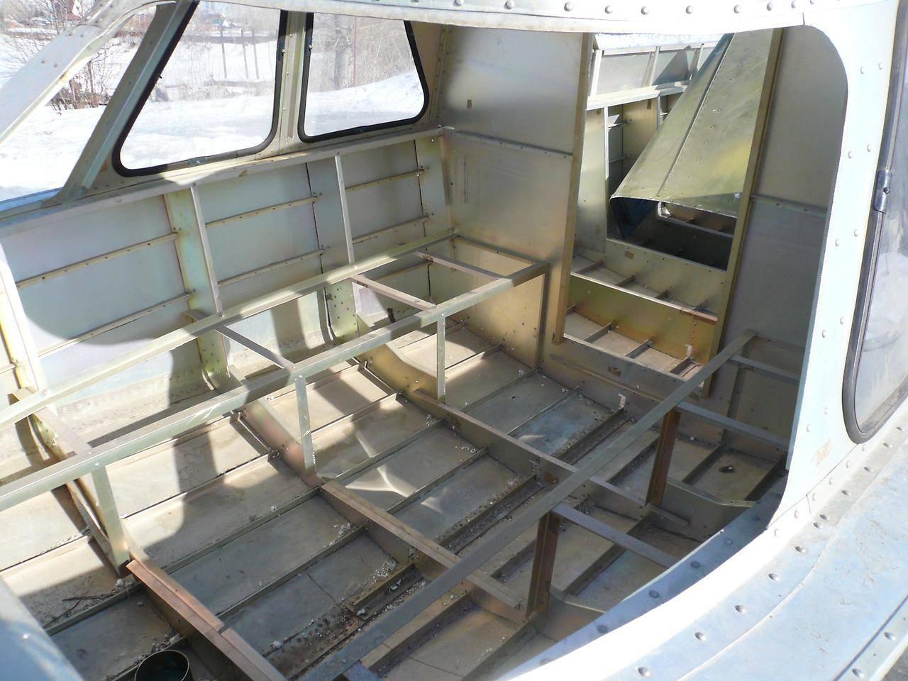 Обь 4 лодка