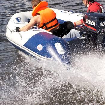 Лодка баджер 390
