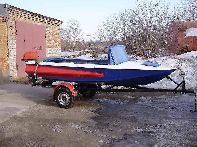 Моторная лодка обь м