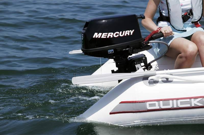 Мотор mercury 5