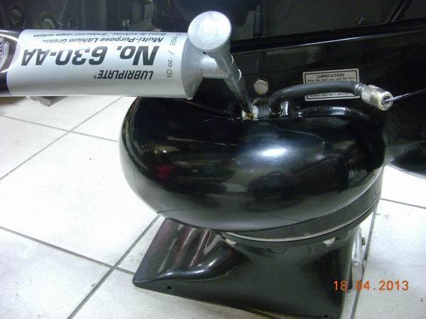 Смазка для водометной насадки