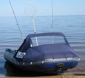 Носовой тент для лодки пвх своими руками