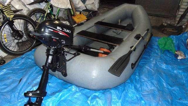 Лодочный мотор сузуки 5 л с