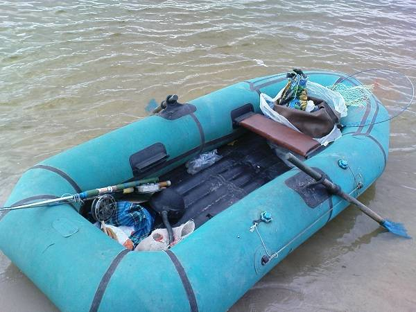 Лодка резиновая омега