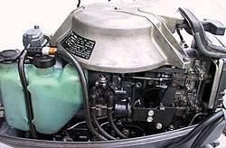 Масло для двухтактных лодочных моторов