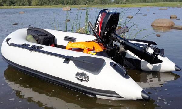 Резиновые лодки с надувным дном
