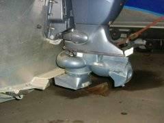 Мотор лодочный водомет
