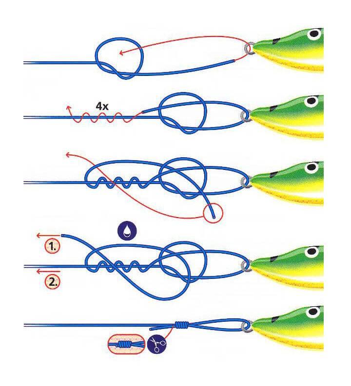 как привязать вертлюжок к леске фото 3