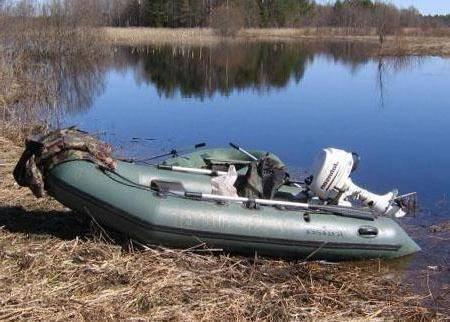 Лодка тайга 270