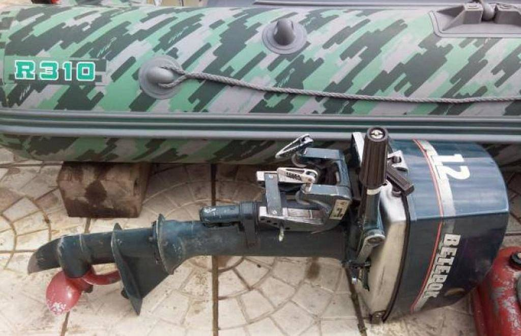 Ремонт лодочного мотора ветерок 8