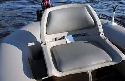 Стул надувной для лодки