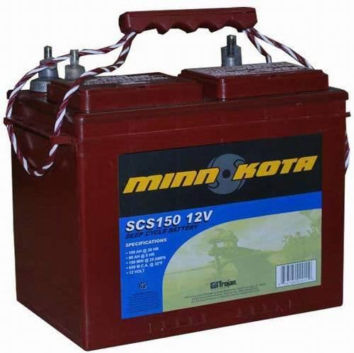 Аккумулятор для лодочных моторов