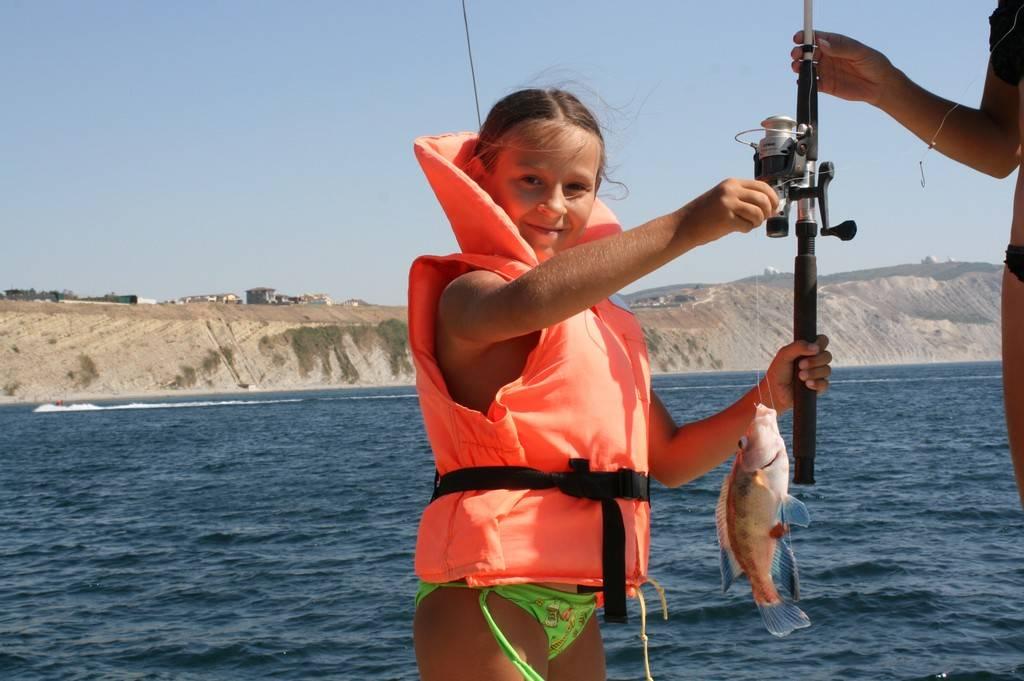 Рыбалка в плавнях анапы