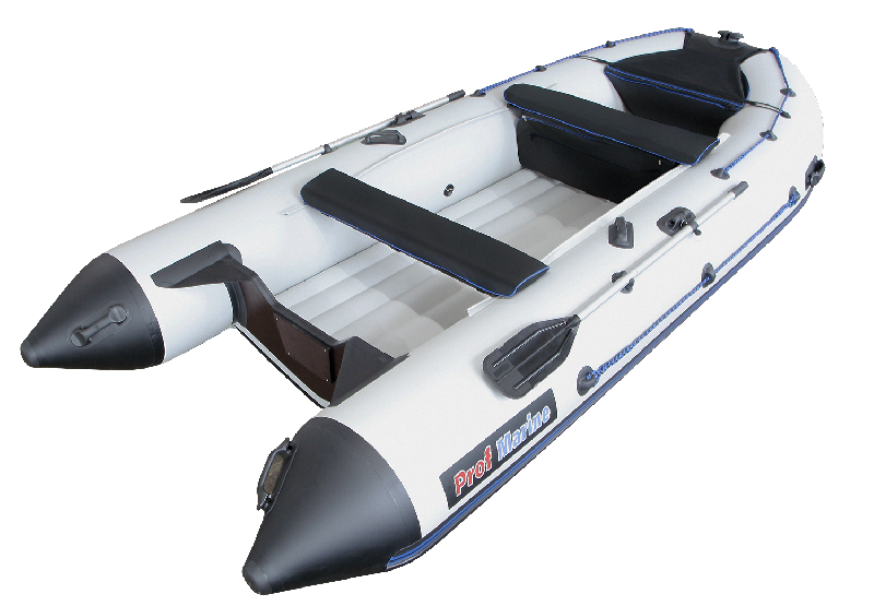 Легкая надувная лодка для рыбалки