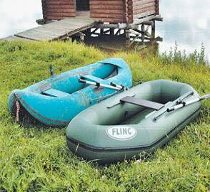 Отличие надувных лодок из ПВХ материалов от резиновых