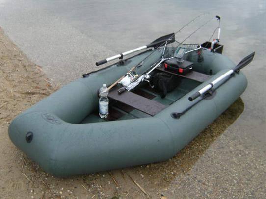2 местная лодка