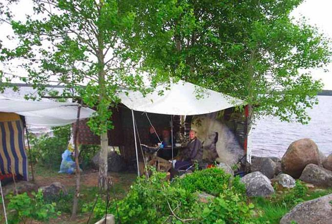 Рыбалка в карелии в июле
