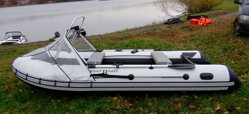 Тент комбинированный на лодку пвх