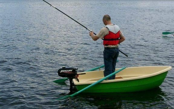 Пластиковые моторно гребные лодки