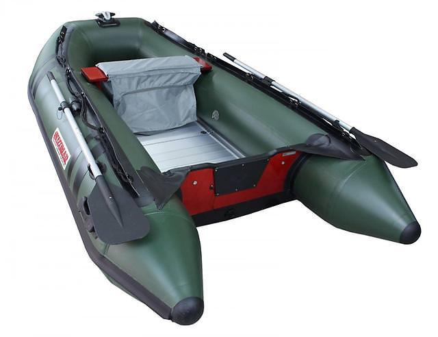 Лодка с алюминиевым дном