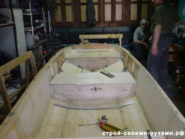 Лодка из пенополистирола