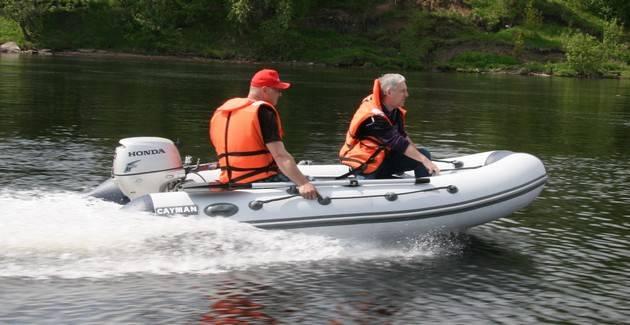Люди на лодке
