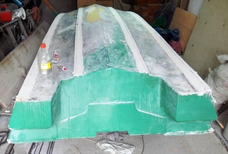 Пластиковая лодка своими руками