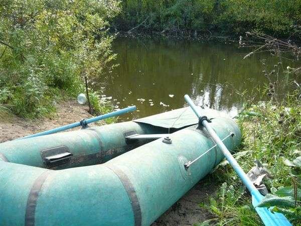 Резиновая лодка омега 2