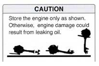 Транспортировка лодочного мотора