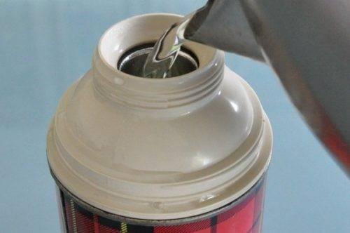 Как запарить перловку для рыбалки в термосе